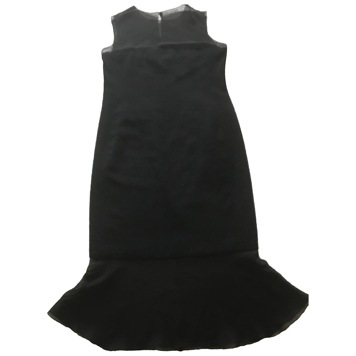 Chanel N Black Wool dress for Women 42 FR