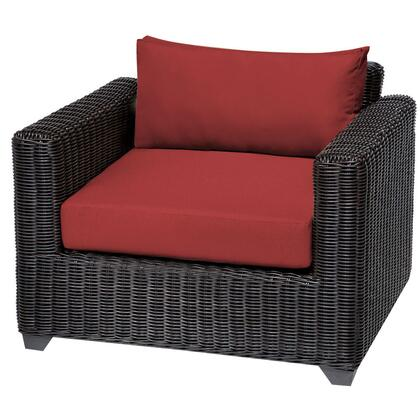 TKC050b-CC-TERRACOTTA Venice Club Chair with 2 Covers: Wheat and