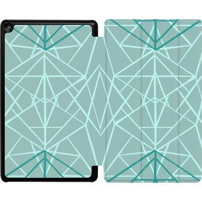Amazon Fire HD 8 (2018) Tablet Smart Case - Geometric Sketches 3 von Mareike Bohmer