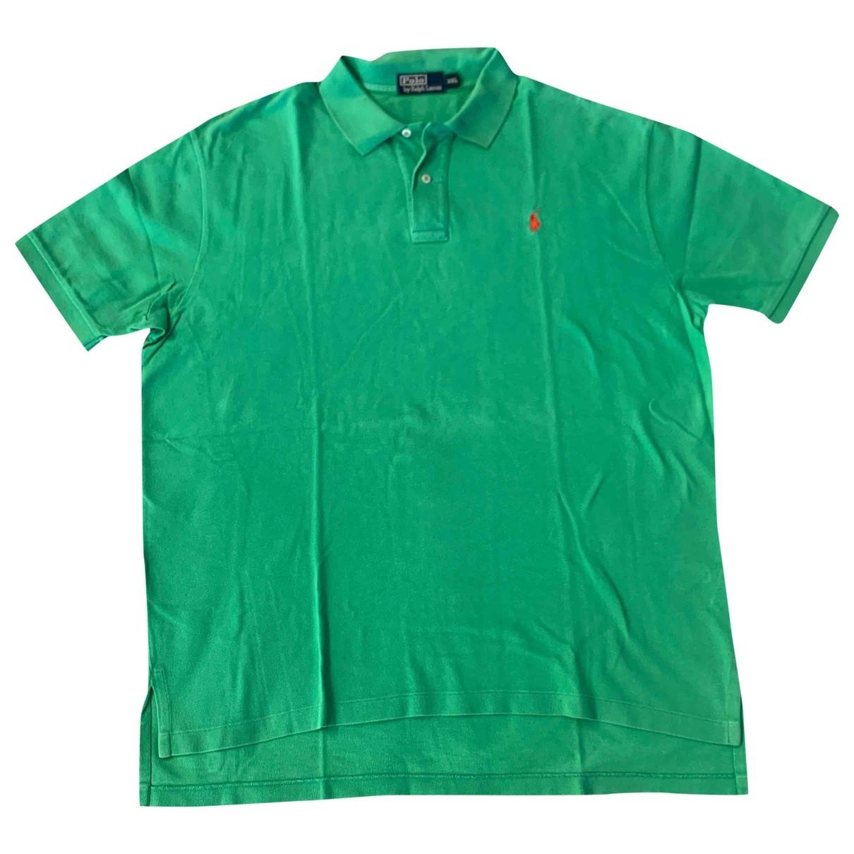 Polo en Algodon Verde Polo Ralph Lauren