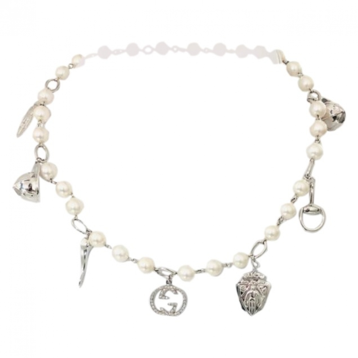 Gucci \N Silver White gold necklace for Women \N