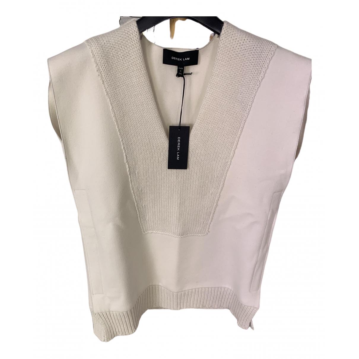 Derek Lam - Pull   pour femme en laine - blanc