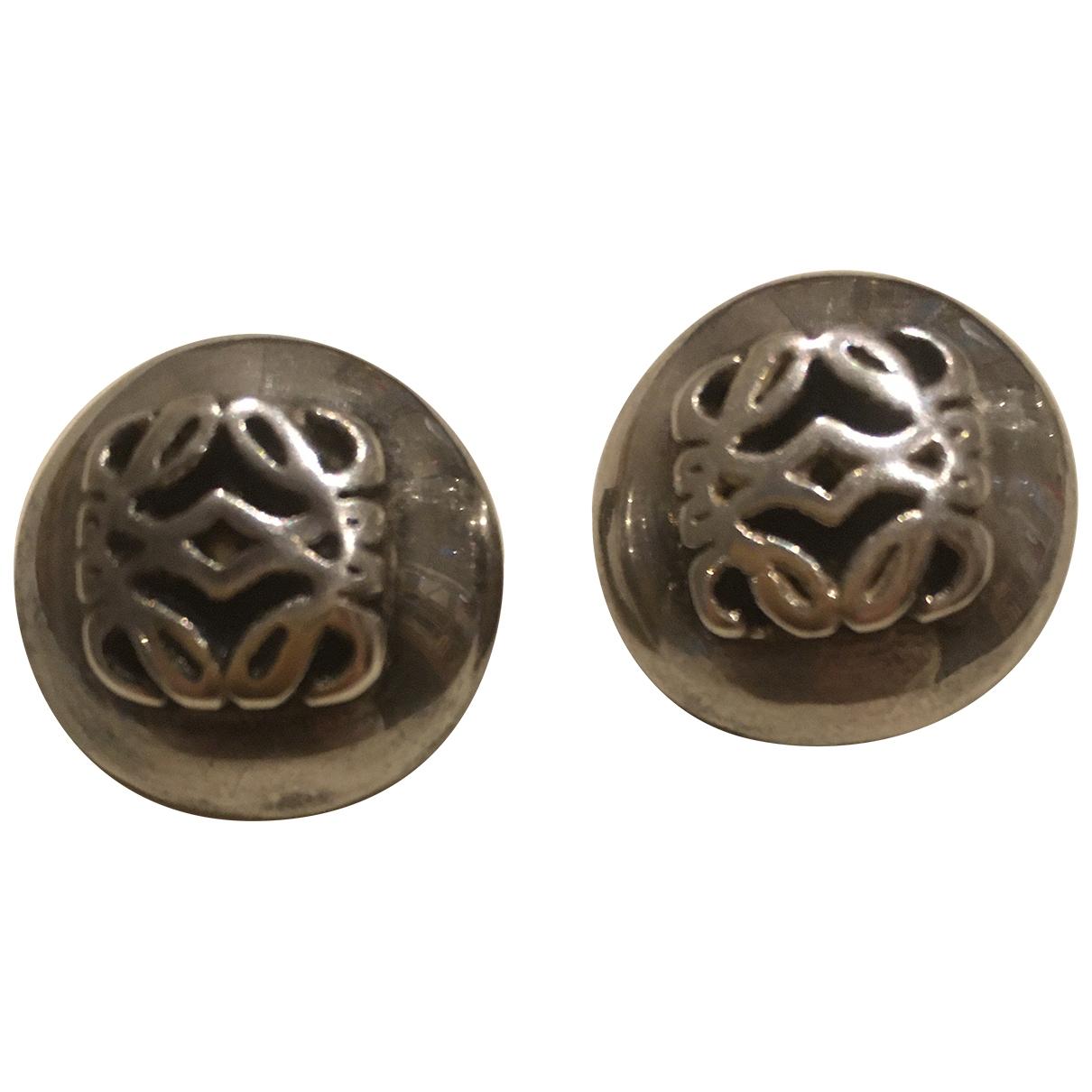 Loewe \N OhrRing in  Silber Silber
