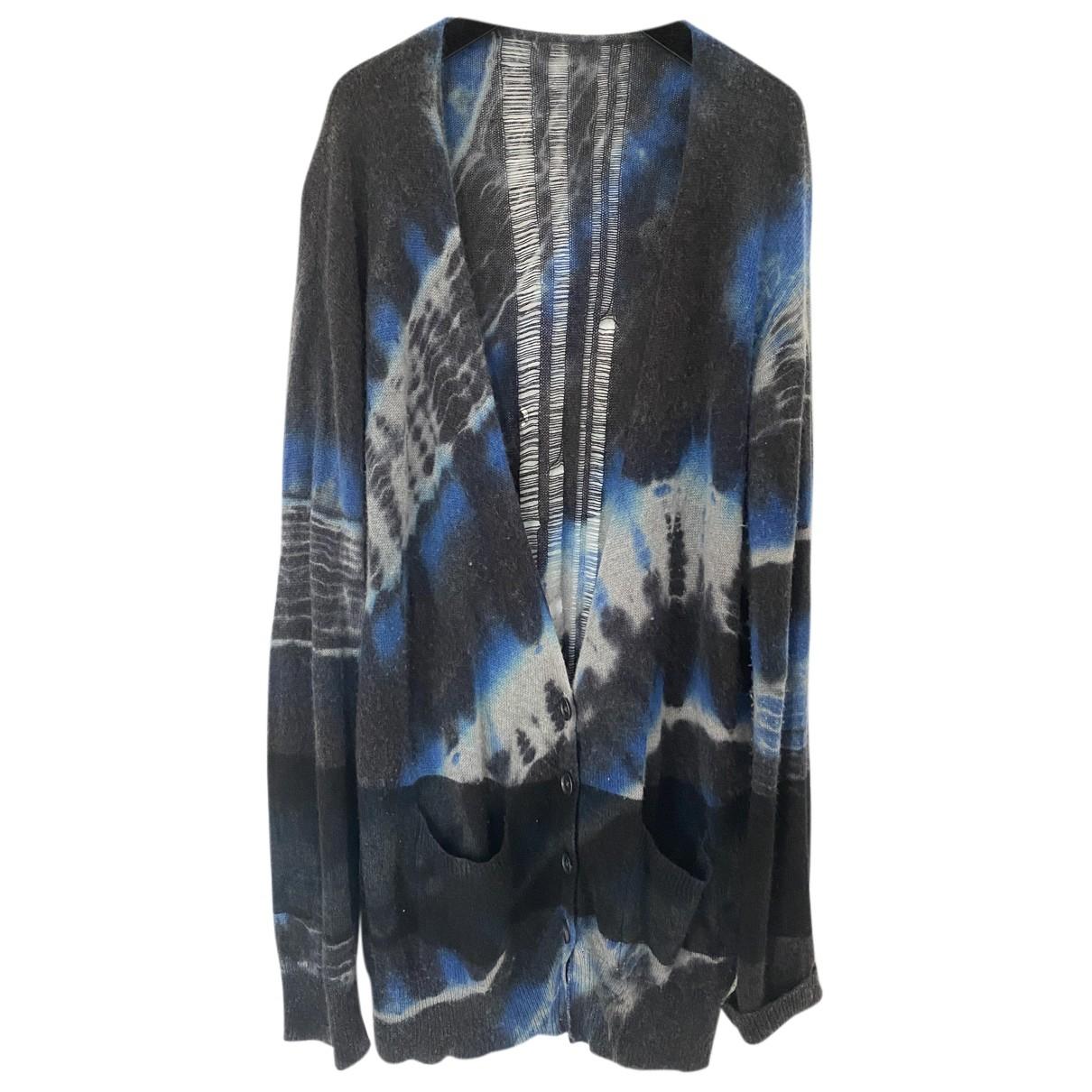 Raquel Allegra - Pull   pour femme en laine - bleu