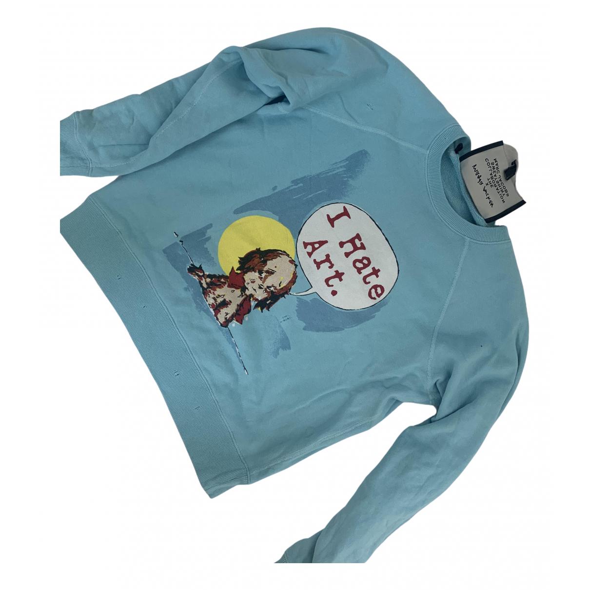 Marc Jacobs - Pull   pour femme en coton - bleu