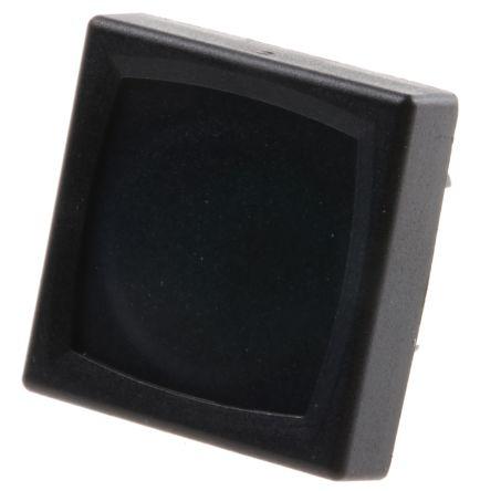 Schurter Single Pole Single Throw (SPST) Black Membrane Keyboard Switch, 125 mA @ 48 V dc