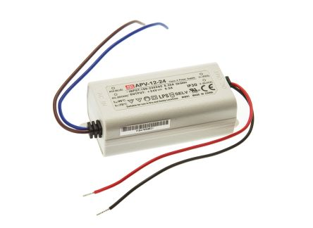 Mean Well Constant Voltage LED Driver 12W 24V
