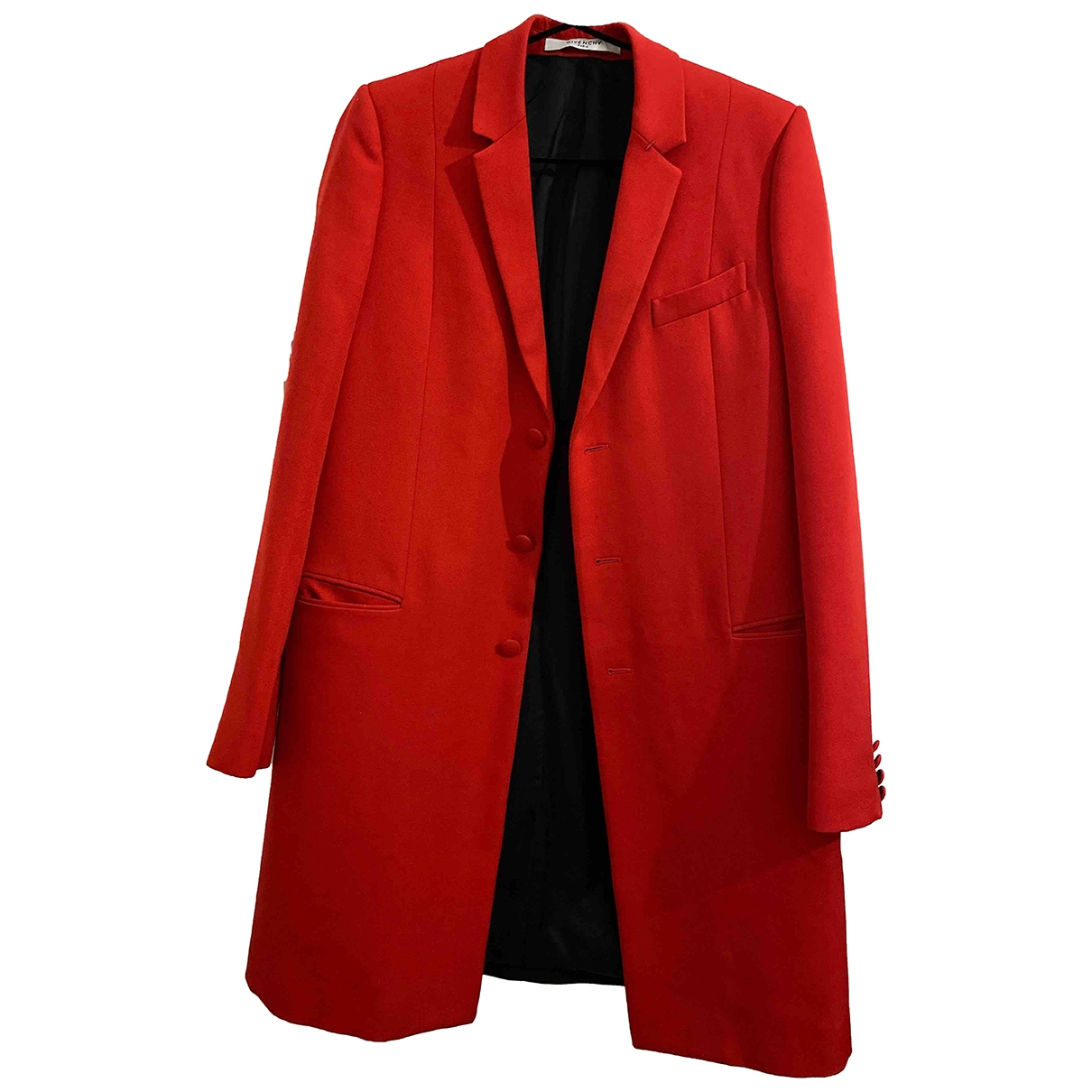 Givenchy \N Red Wool coat for Women 40 FR