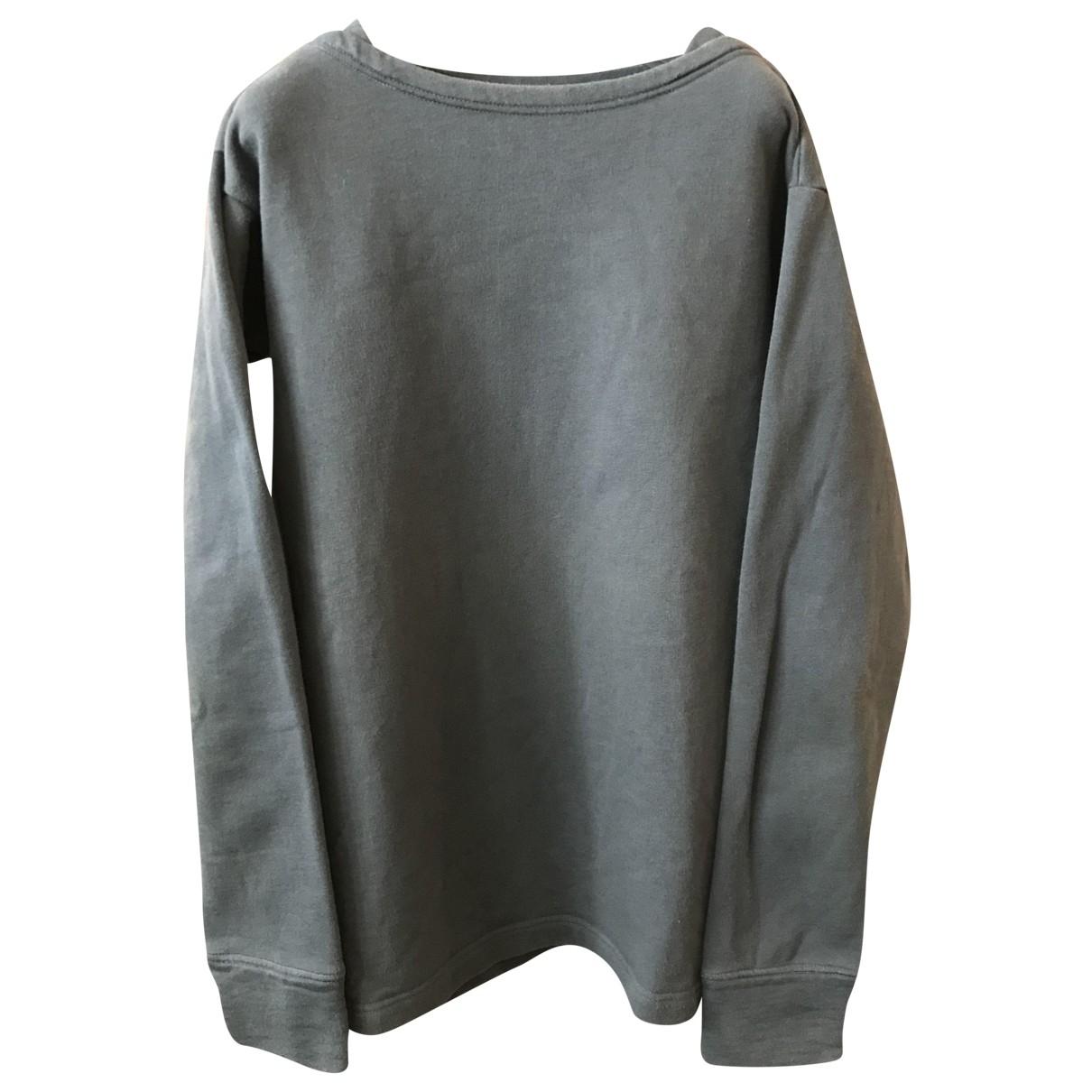 Lemaire \N Pullover.Westen.Sweatshirts  in  Anthrazit Baumwolle