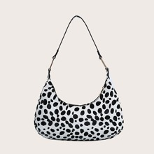 Baguette Tasche mit Dalmatiner Muster