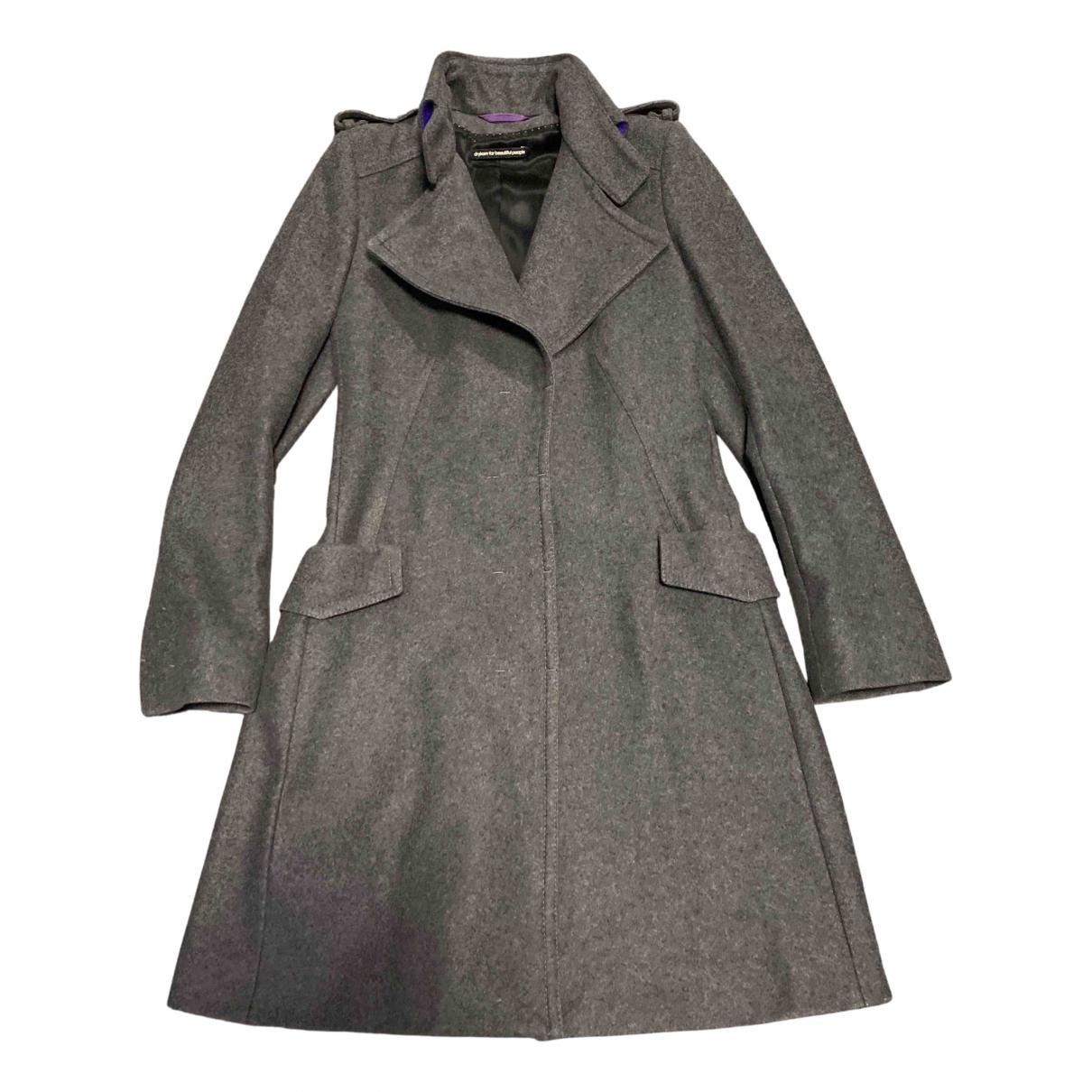 Drykorn N Grey Wool coat for Women 2 0-5