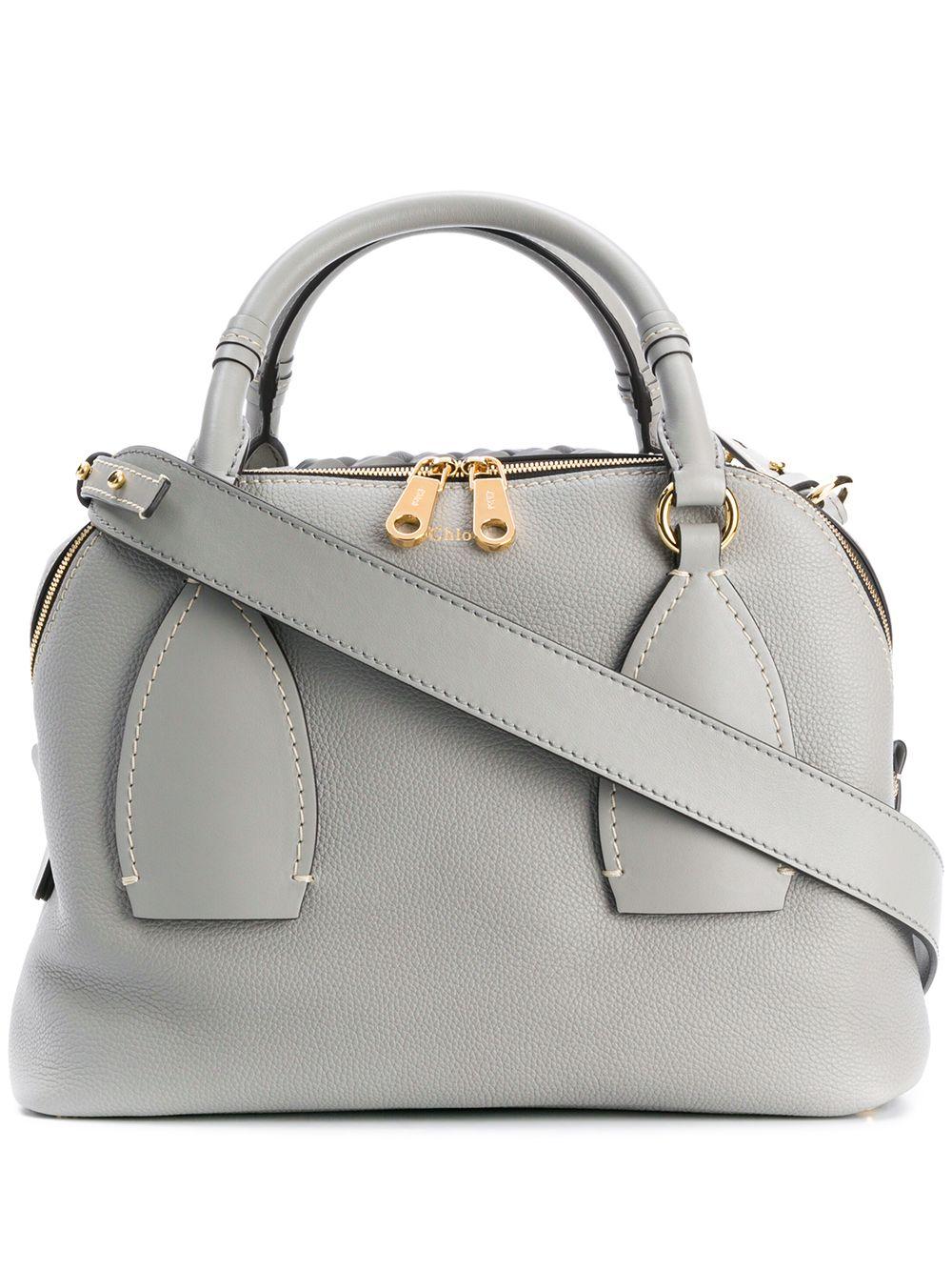 Daria Leather Shoulder Bag