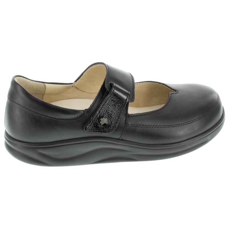 Finn Comfort Nagasaki Black Leather 65 Uk