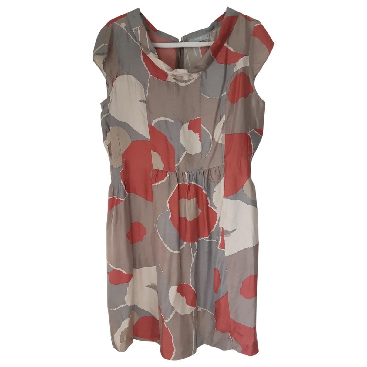 Nicole Farhi \N Grey Silk dress for Women 12 UK