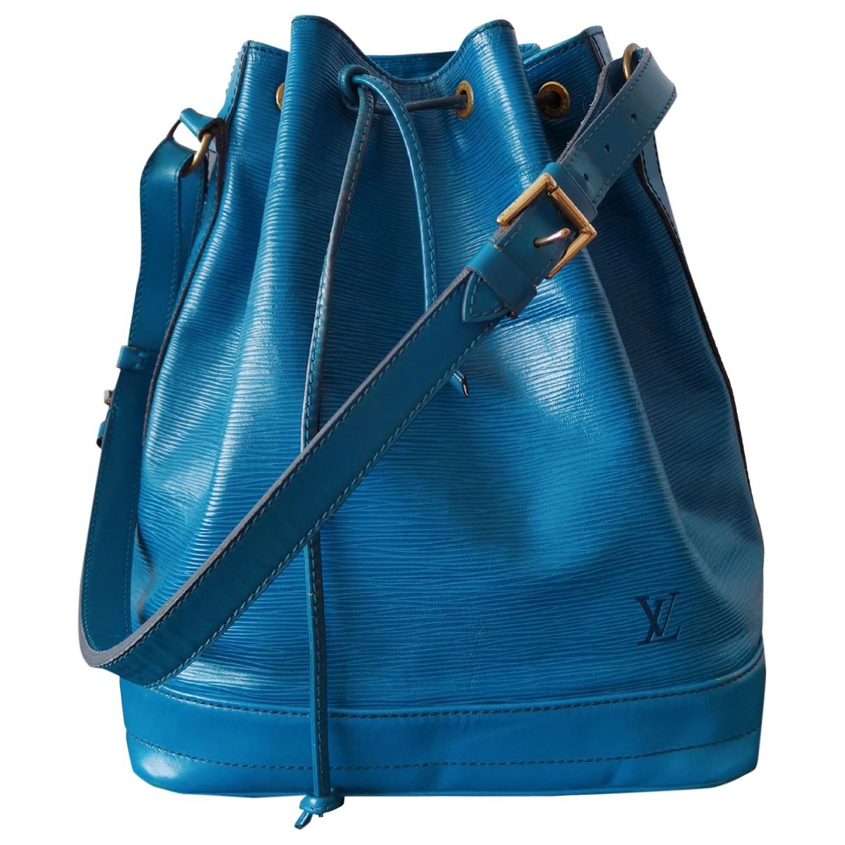 Louis Vuitton NéoNoé Blue Leather handbag for Women \N