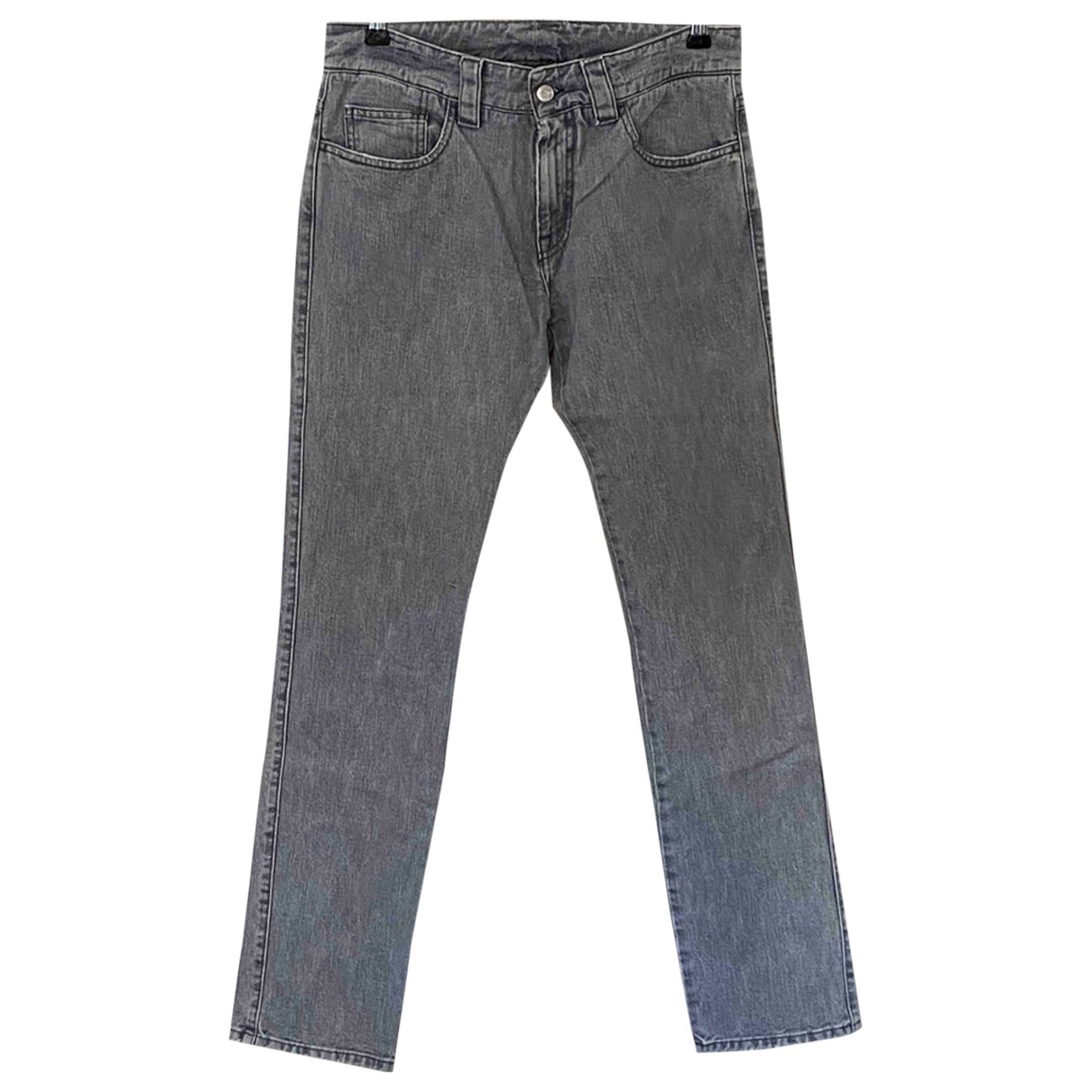 Y-3 - Jean   pour homme en coton - gris