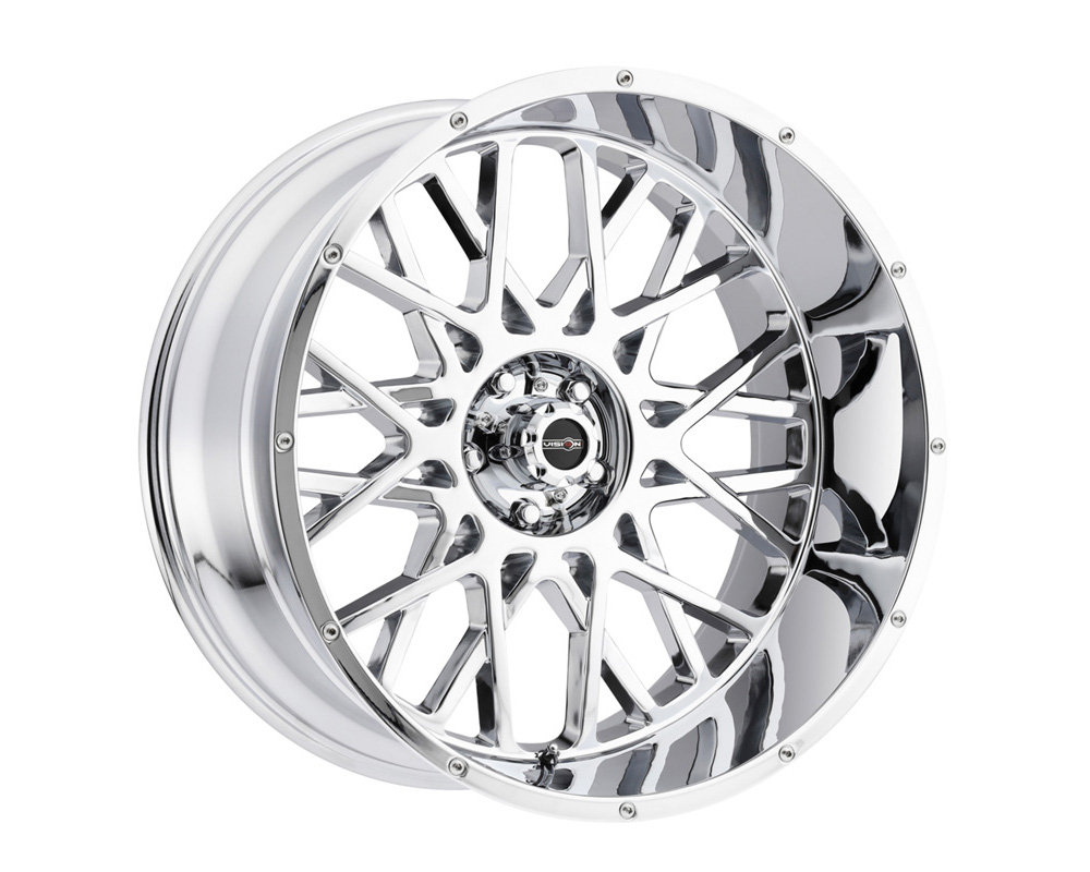 Vision Rocker Chrome Wheel 20x9 6x135 12