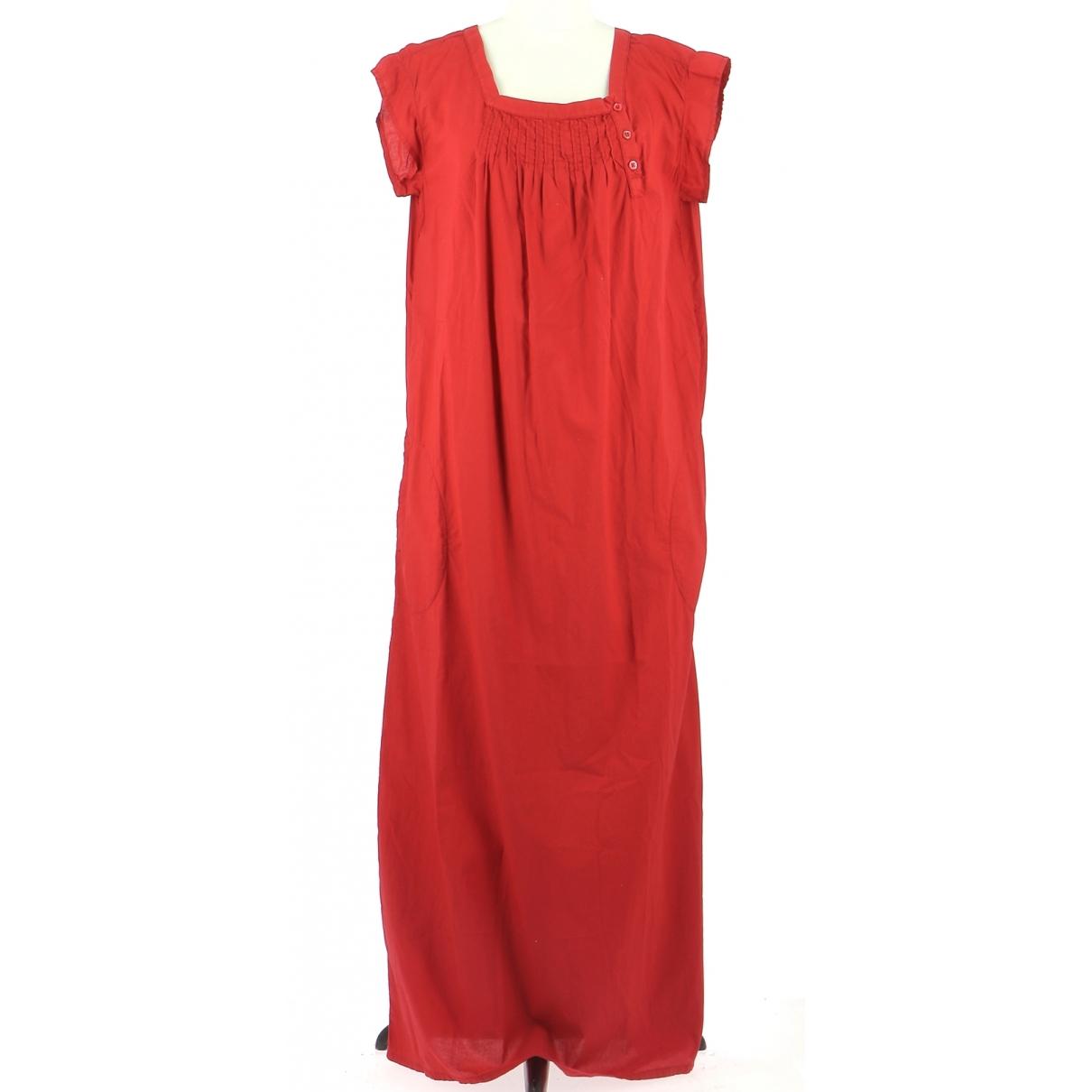 Agnes B. \N Kleid in  Rot Baumwolle