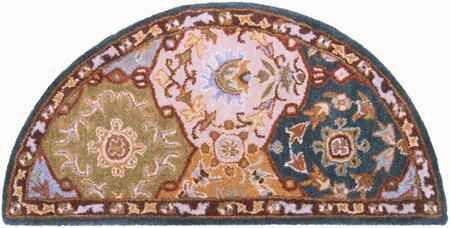 Caesar CAE-1032 2' x 4' Hearth Traditional Rug in