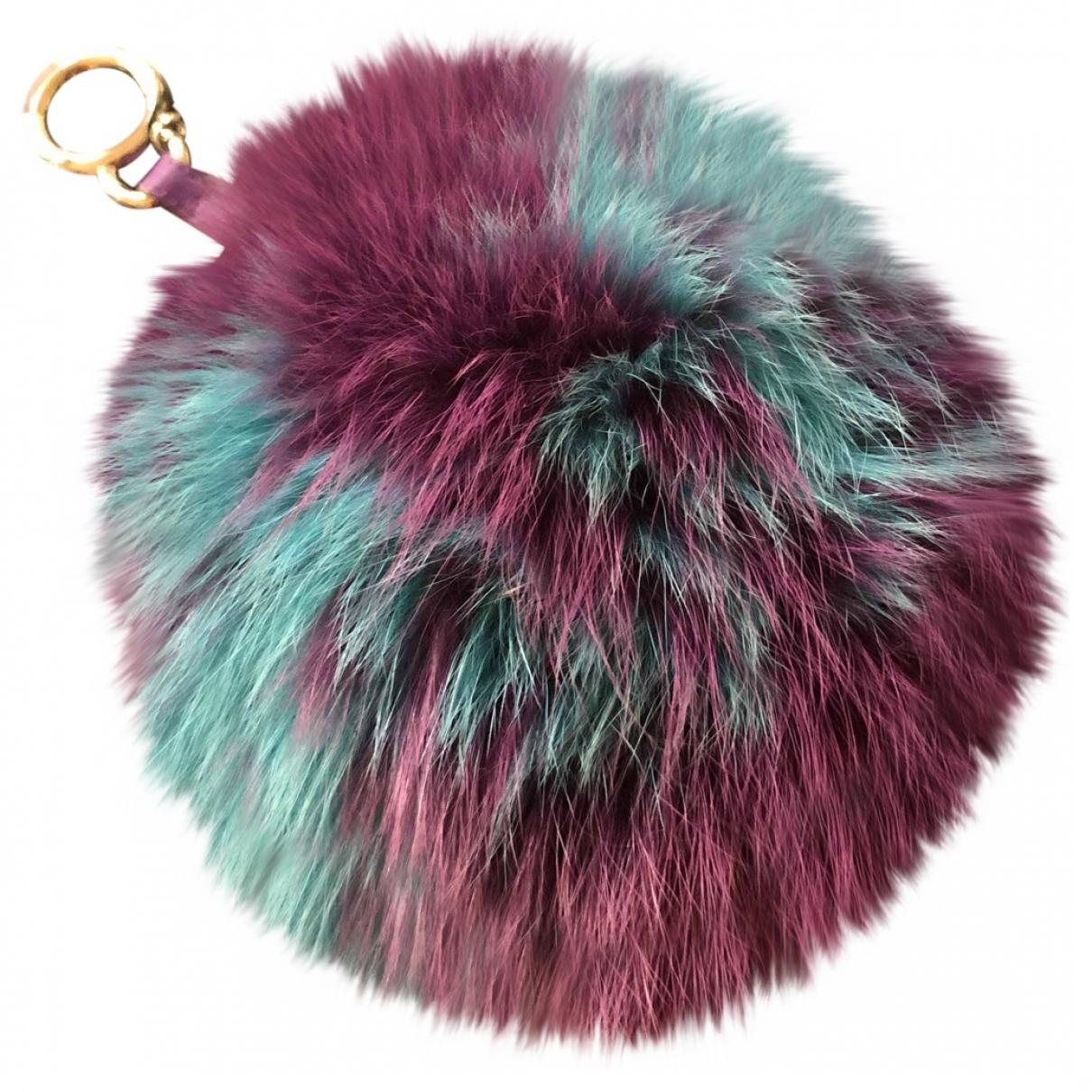Fendi - Bijoux de sac ABCharm pour femme en renard - violet