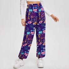 All Over Print Pants