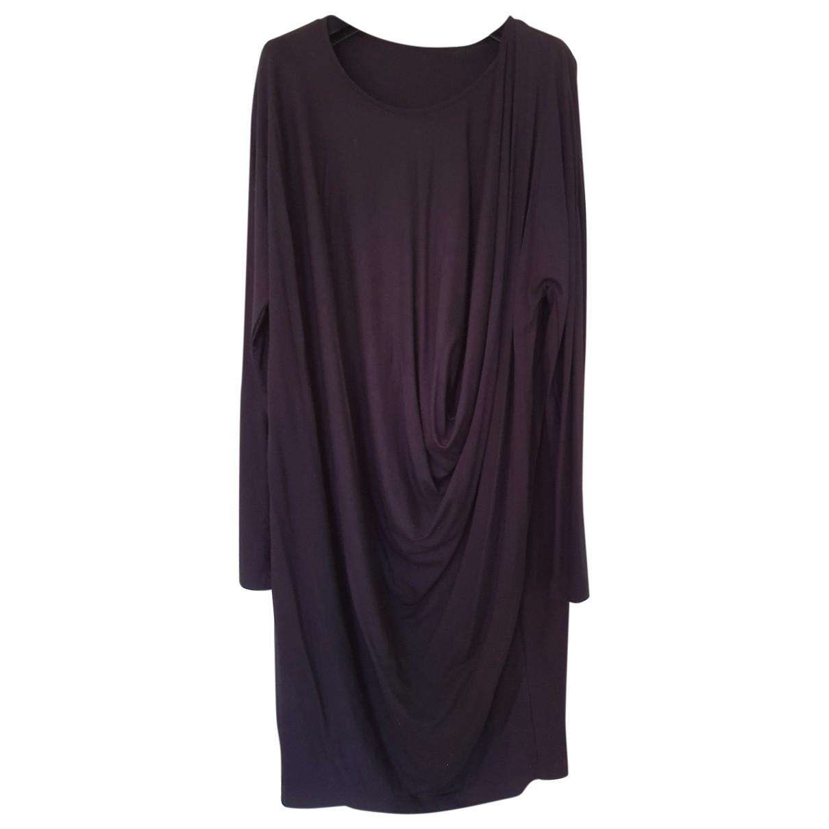 Cos \N Black Cotton dress for Women 38 FR