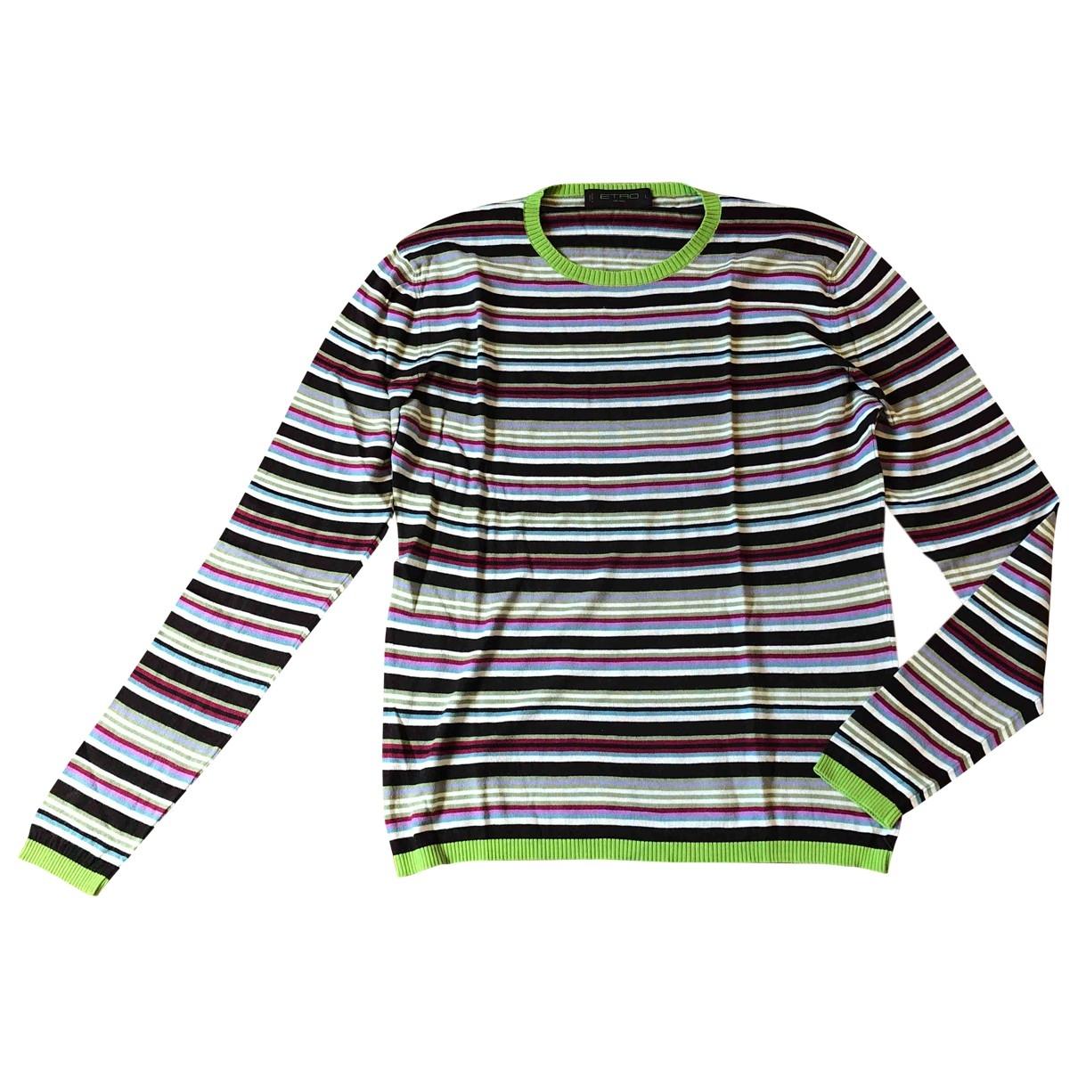 Etro - Pulls.Gilets.Sweats   pour homme en coton - multicolore