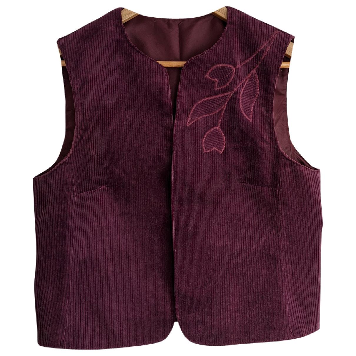 Non Signé / Unsigned \N Purple Velvet jacket for Women L International