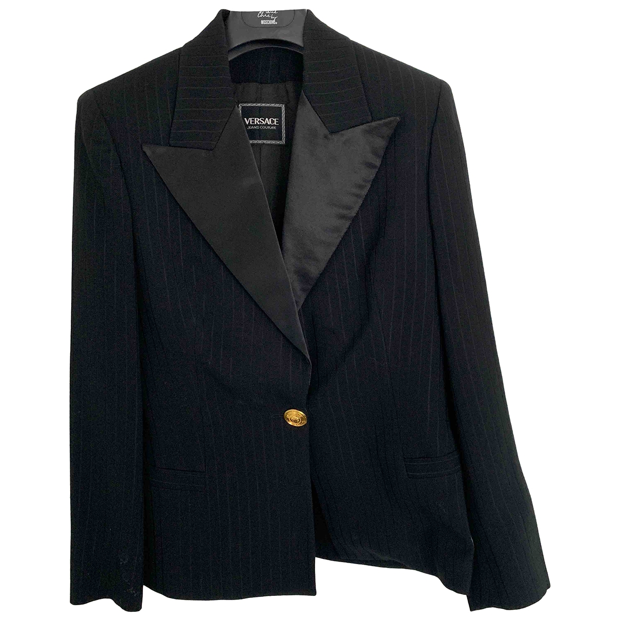 Versace Jeans \N Black jacket for Women 42 IT