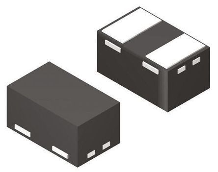 STMicroelectronics ESDALC6V1-1M2, Uni-Directional TVS Diode, 50W, 2-Pin SOD-882 (100)