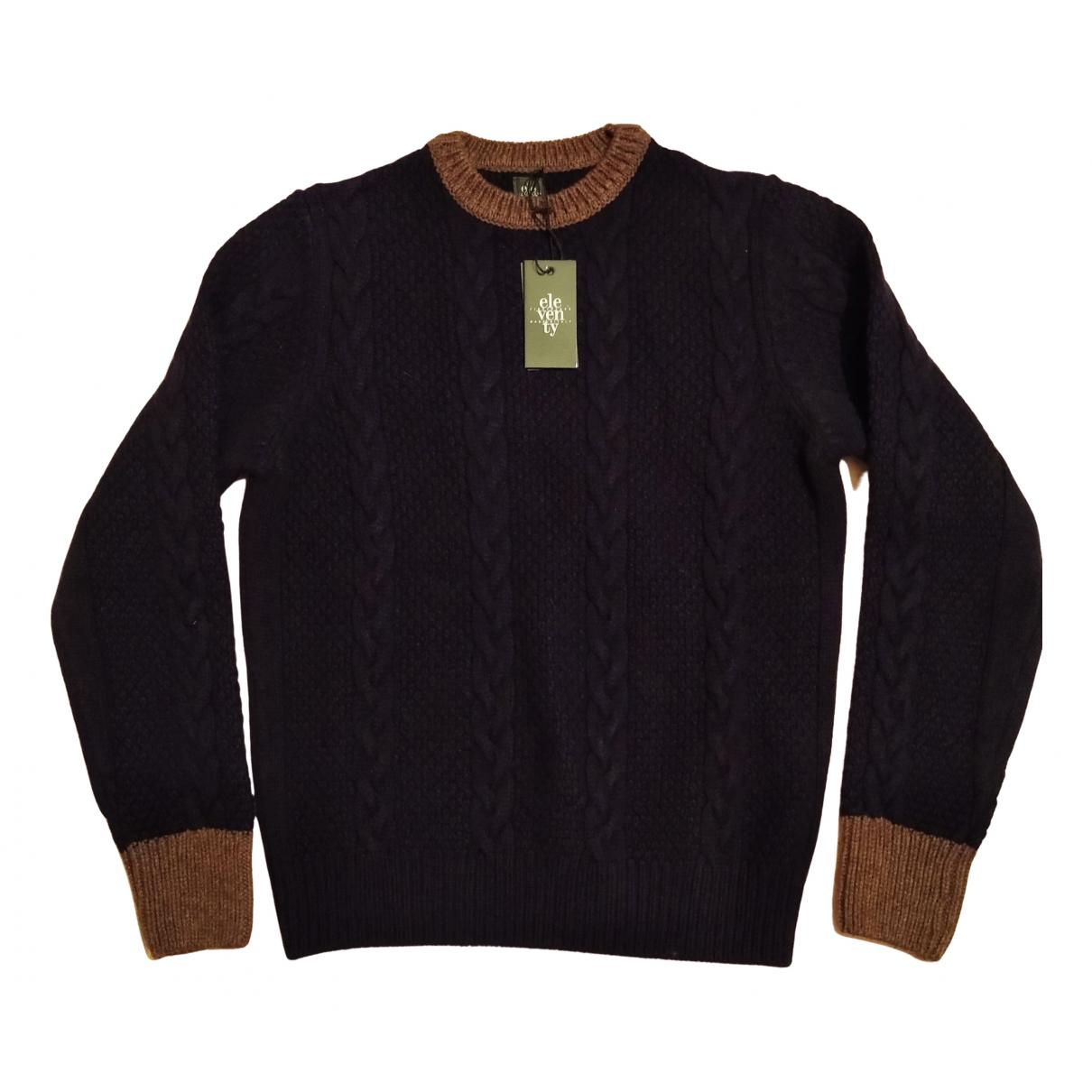 Eleventy - Pulls.Gilets.Sweats   pour homme en laine - bleu