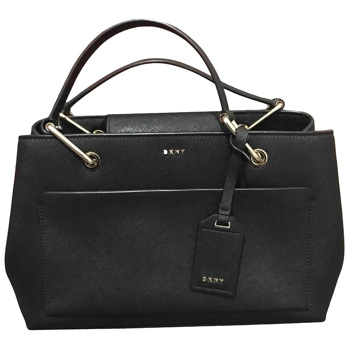 Dkny \N Black Patent leather handbag for Women \N