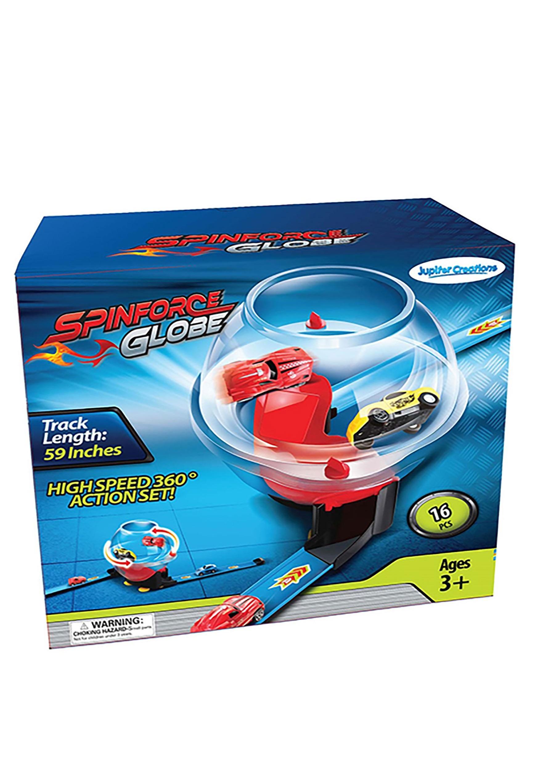Globe Spinforce Race Car Toy