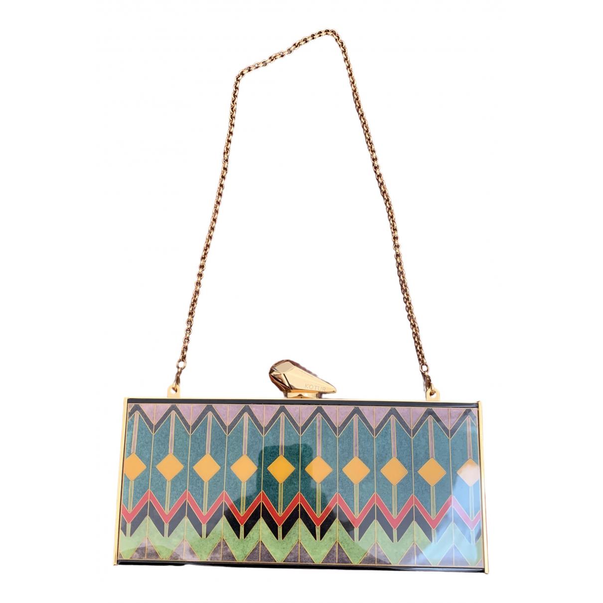 Kotur - Pochette   pour femme - multicolore