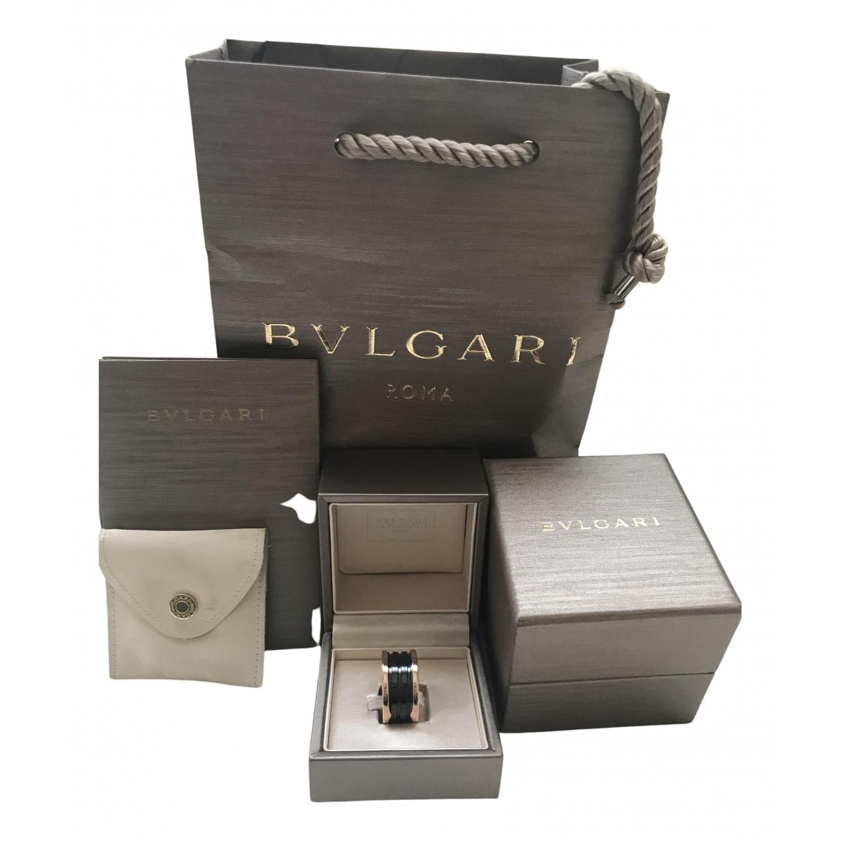 Bvlgari - Bague B.Zero1 pour femme en ceramique - noir