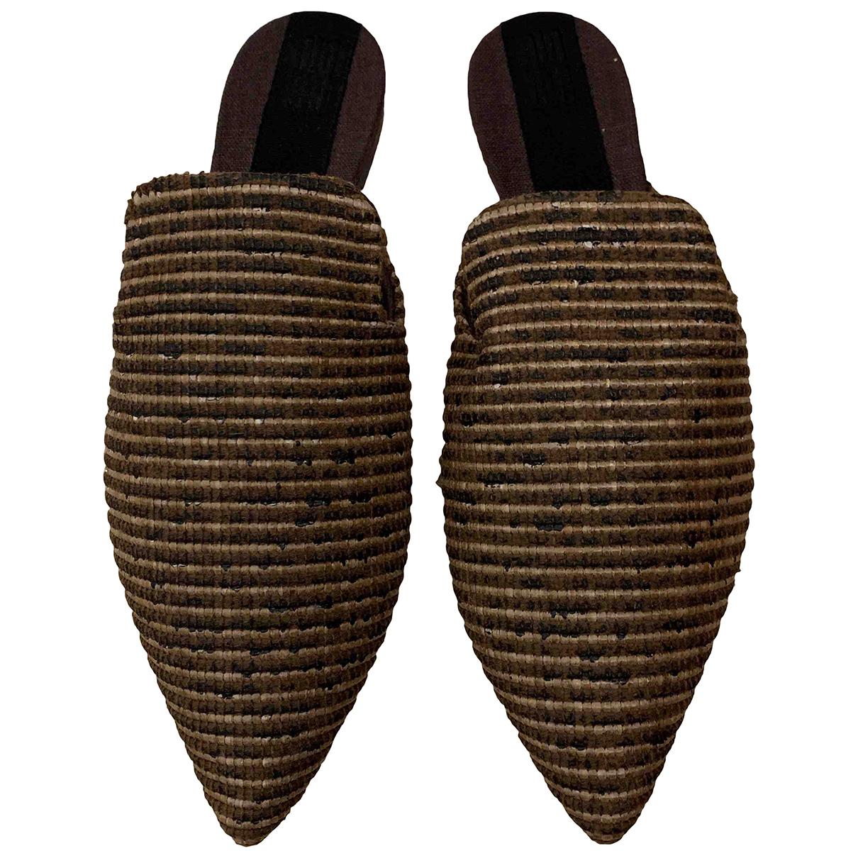 Sanayi 313 N Multicolour Cloth Mules & Clogs for Women 41 EU
