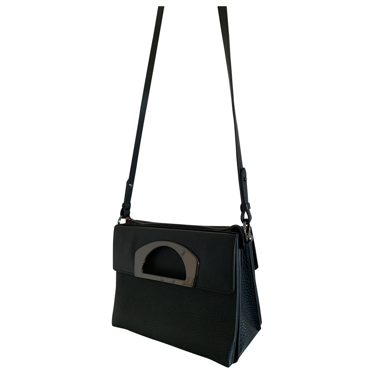 Christian Louboutin \N Handtasche in  Schwarz Leder
