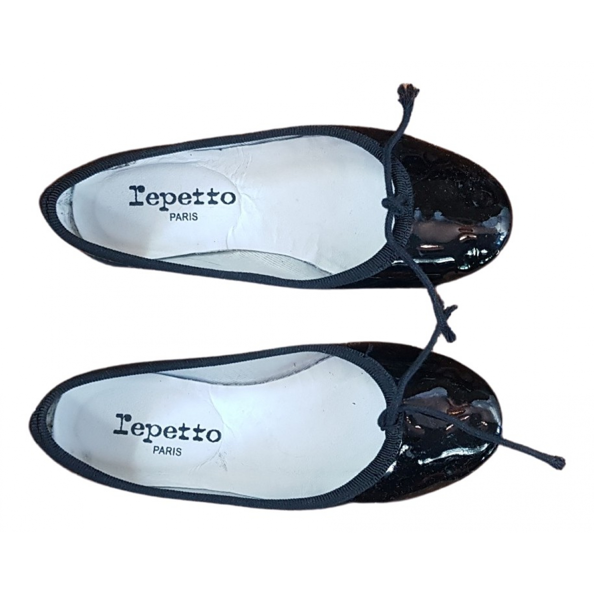 Repetto \N Black Patent leather Ballet flats for Kids 29 FR