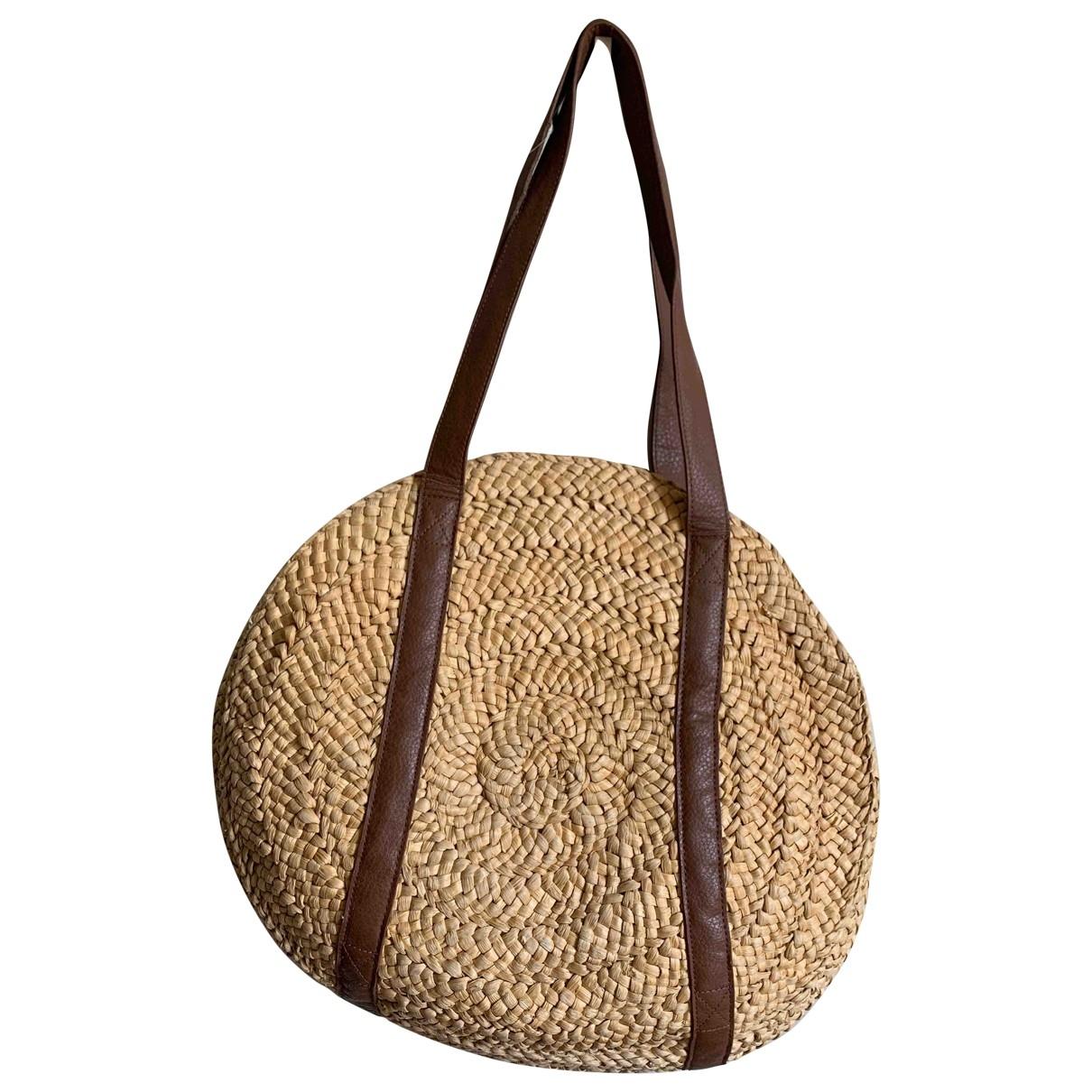 Zara \N Beige Wicker handbag for Women \N