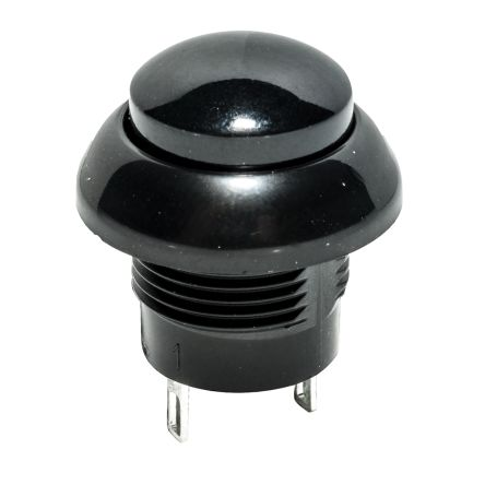 C & K Single Pole Double Throw (SPDT) Momentary Push Button Switch, IP68, 12.3 (Dia.) x 11mm, Panel Mount, 32V dc (50)