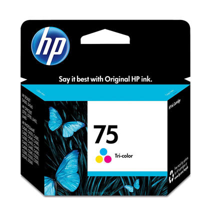 HP 75 CB337WN Original Color Ink Cartridge