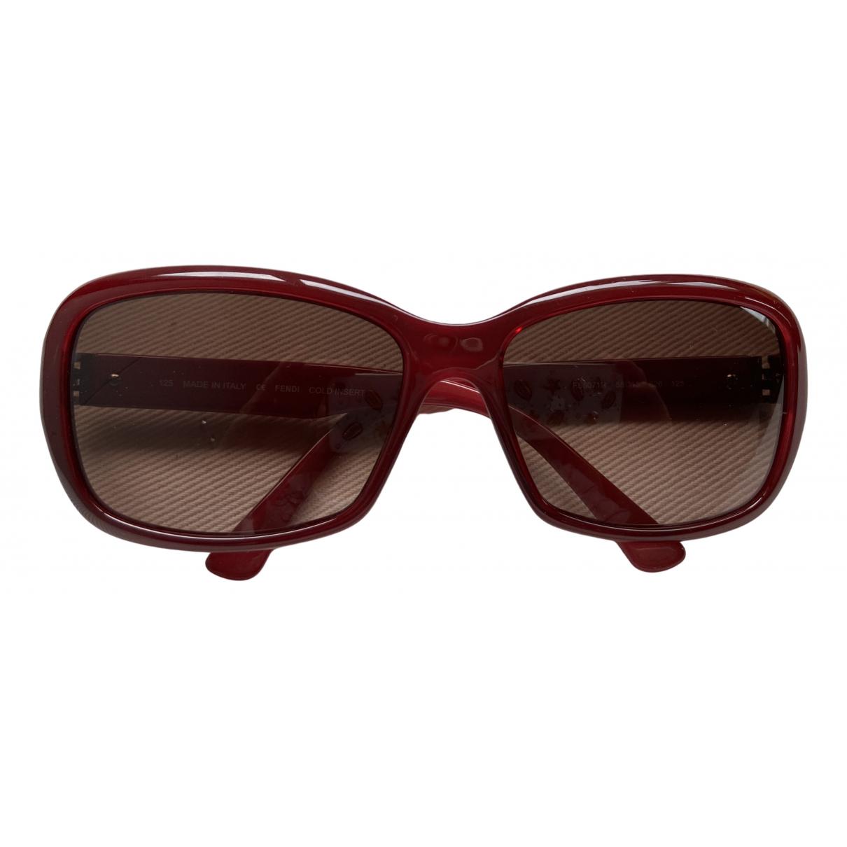 Fendi - Lunettes   pour femme - rouge