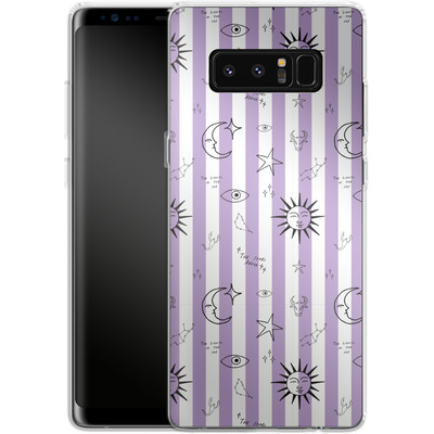 Samsung Galaxy Note 8 Silikon Handyhuelle - Optical Zodiac von caseable Designs