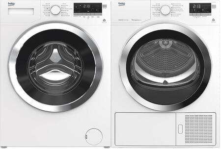 Compact White Laundry Pair with WMY10148C2 24