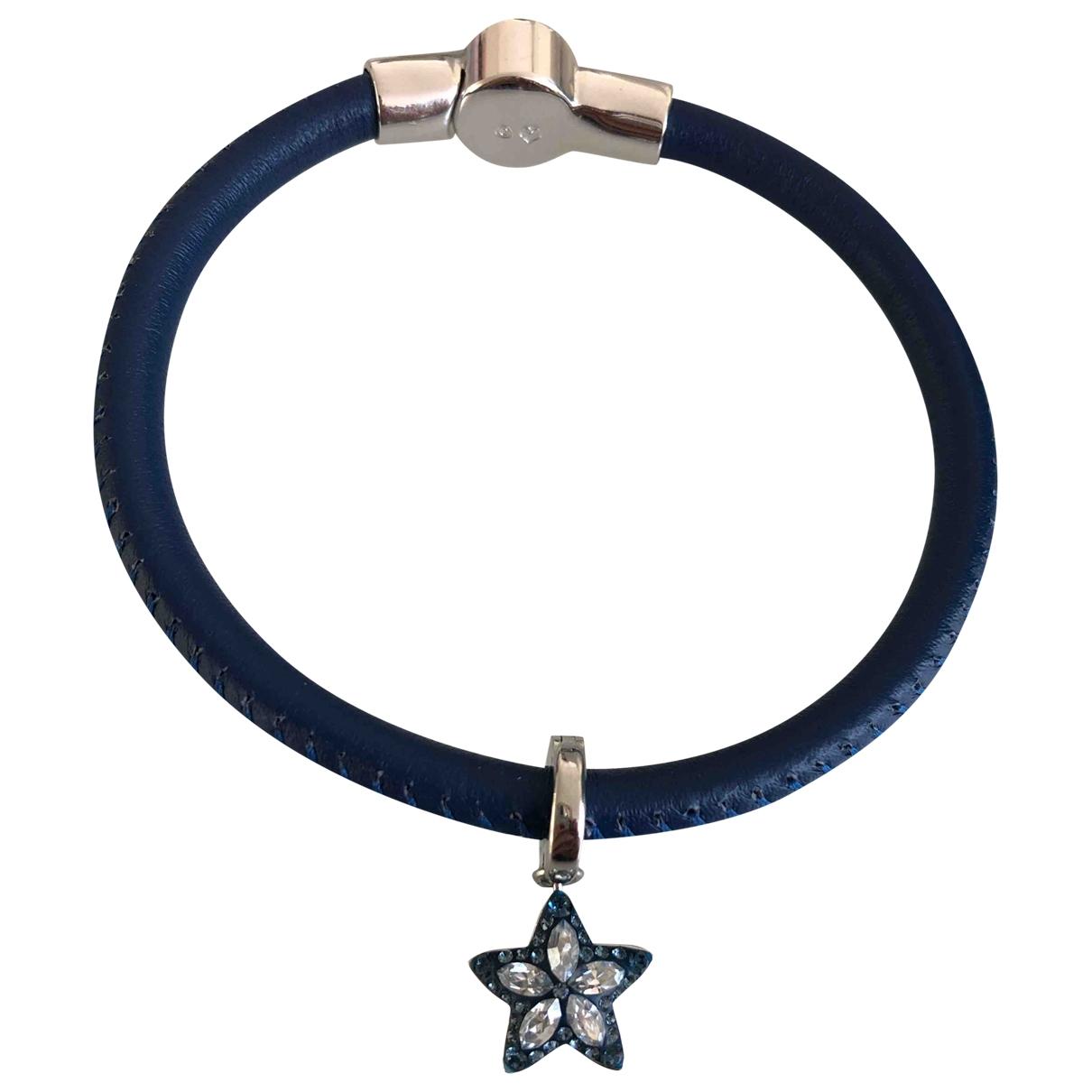 Swarovski - Bracelet   pour femme en metal - bleu