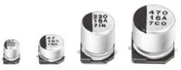 Panasonic 220μF Electrolytic Capacitor 35V dc, Surface Mount - EEE1VA221UP (500)