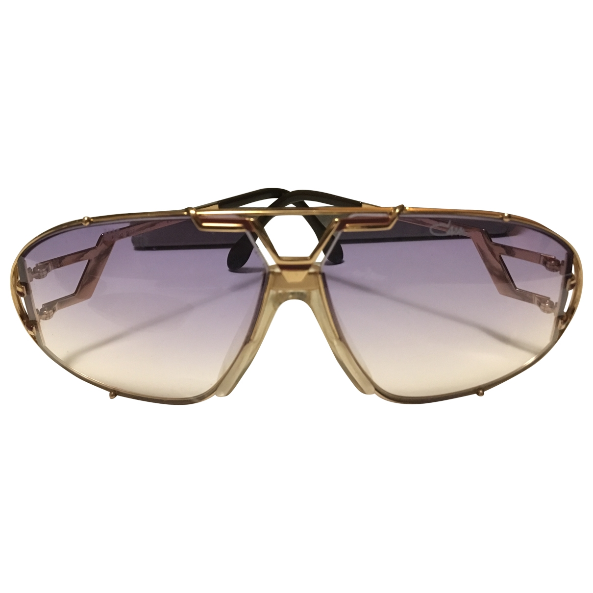 Cazal \N Gold Metal Sunglasses for Women \N