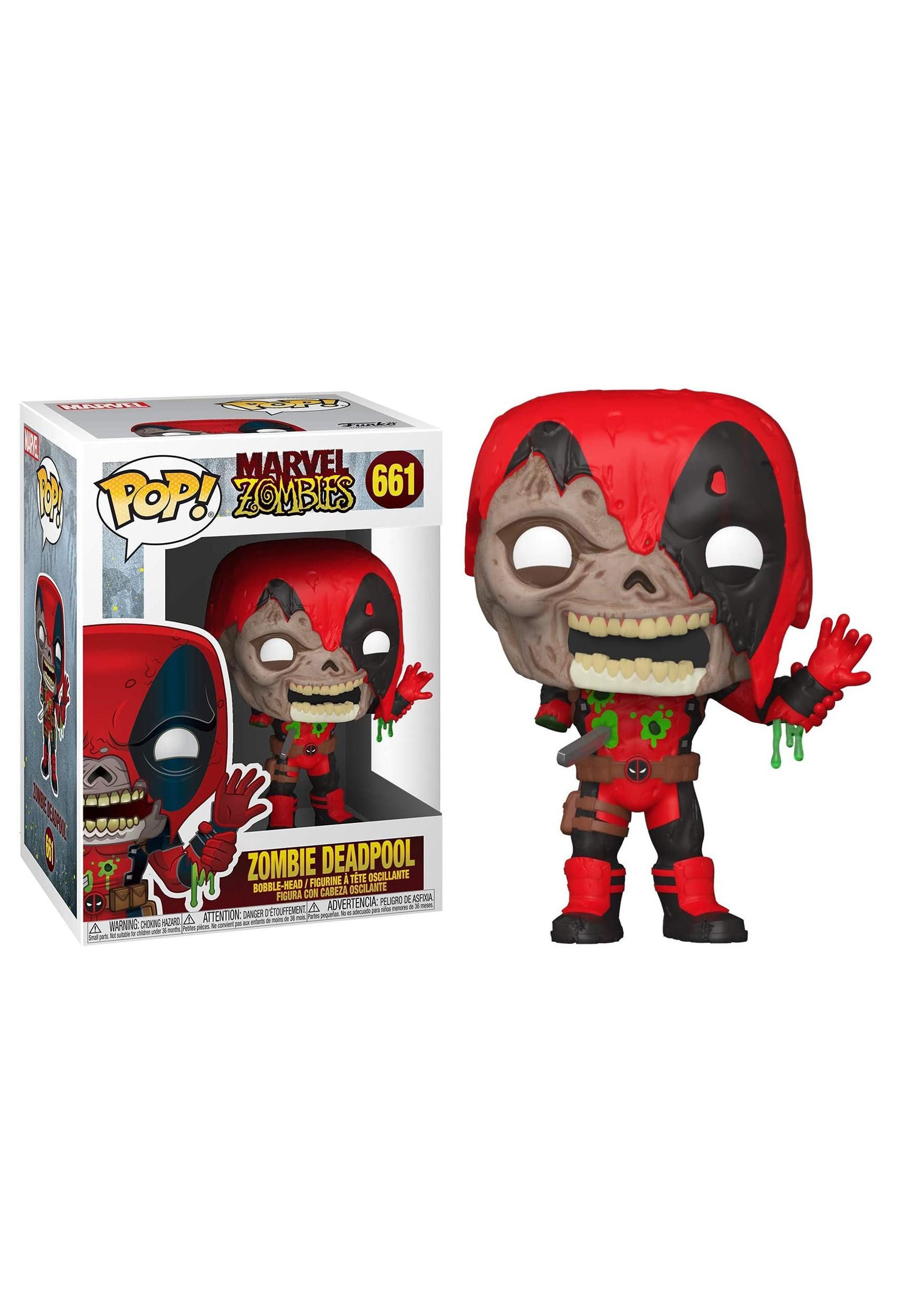Deadpool Bobblehead Figure POP! Marvel: Marvel Zombies