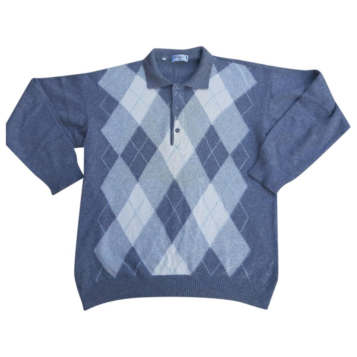 Yves Saint Laurent \N Pullover.Westen.Sweatshirts  in  Grau Wolle