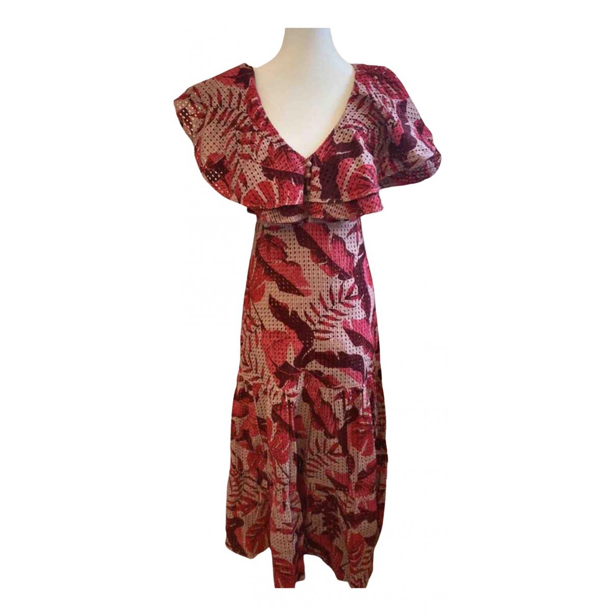 Johanna Ortiz - Robe   pour femme en coton - rouge